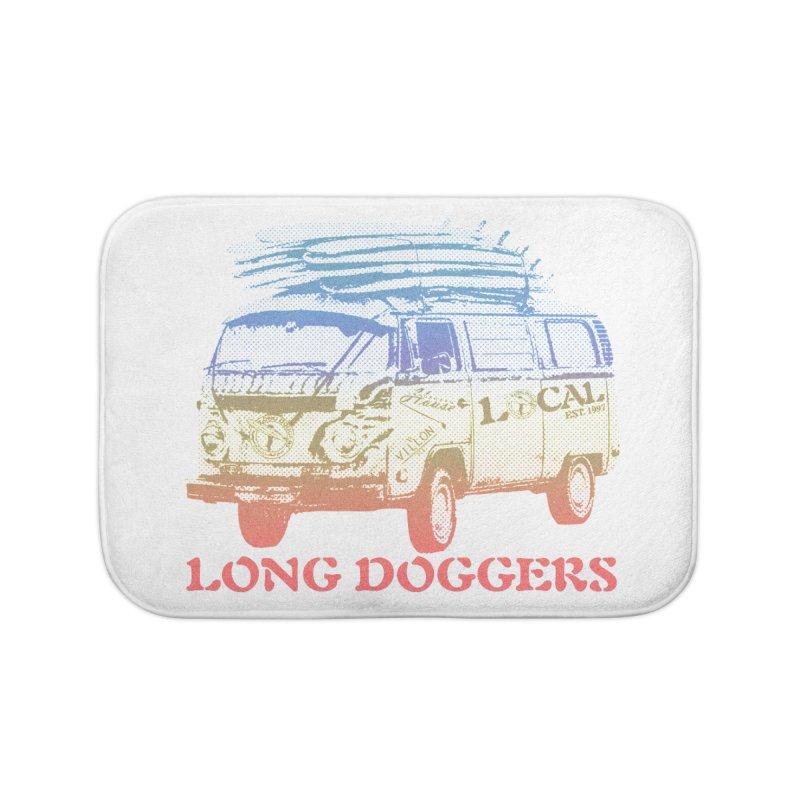 Long Doggers VW Van Home Bath Mat by Long Dogger's Merch Store