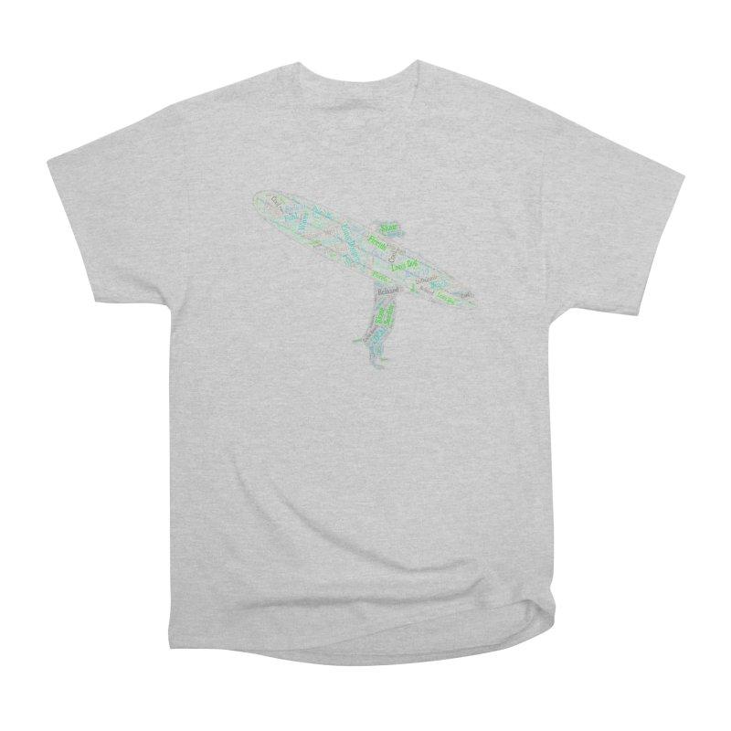 Long Doggers Dog Word Art Men's T-Shirt by Long Dogger's Merch Store