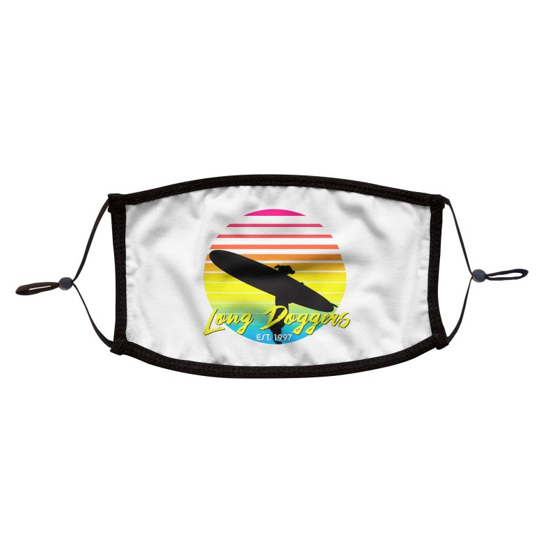 1980s Sun & Surf Accessories Face Mask by Long Dogger's Merch Store