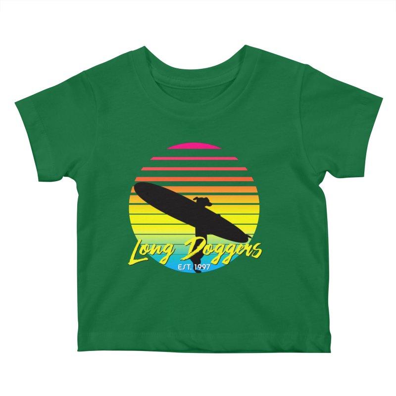 1980s Sun & Surf Kids Baby T-Shirt by Long Dogger's Merch Store