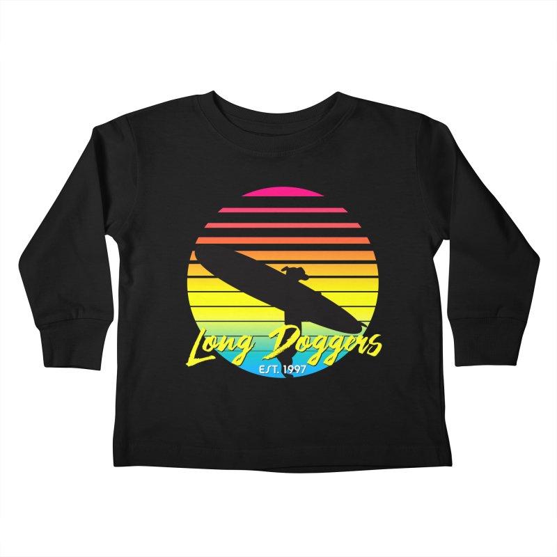 1980s Sun & Surf Kids Toddler Longsleeve T-Shirt by Long Dogger's Merch Store