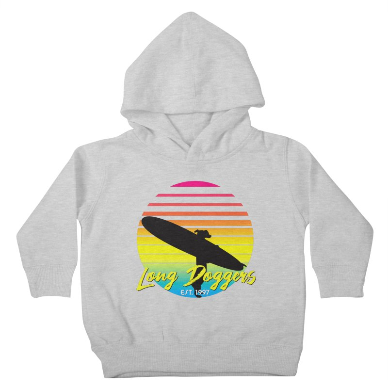 1980s Sun & Surf Kids Toddler Pullover Hoody by Long Dogger's Merch Store