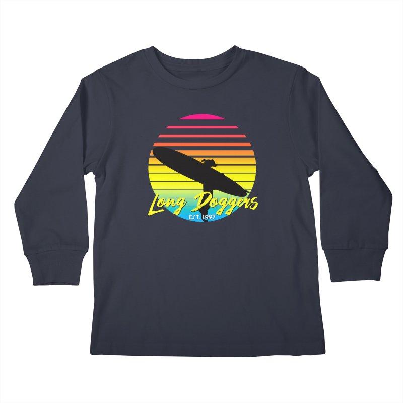 1980s Sun & Surf Kids Longsleeve T-Shirt by Long Dogger's Merch Store
