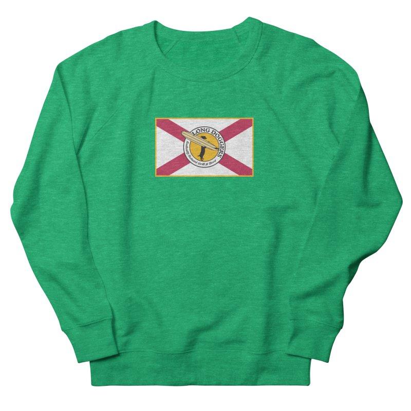 Florida Flag LD Logo Women's Sweatshirt by Long Dogger's Merch Store