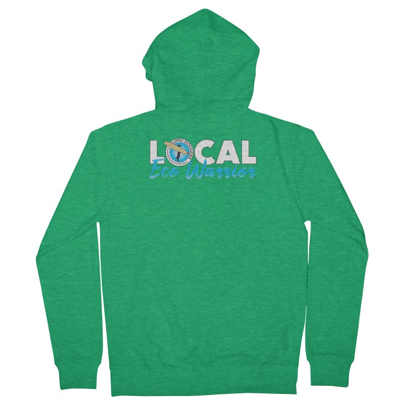 LOCAL Eco Warrior Women's Zip-Up Hoody by Long Dogger's Merch Store