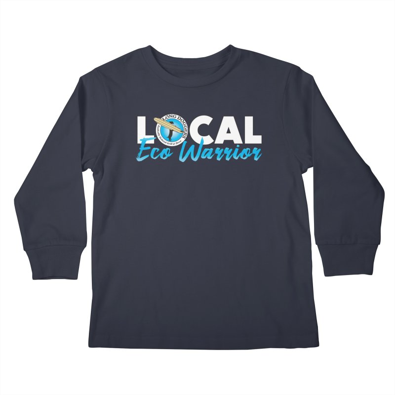 LOCAL Eco Warrior Kids Longsleeve T-Shirt by Long Dogger's Merch Store