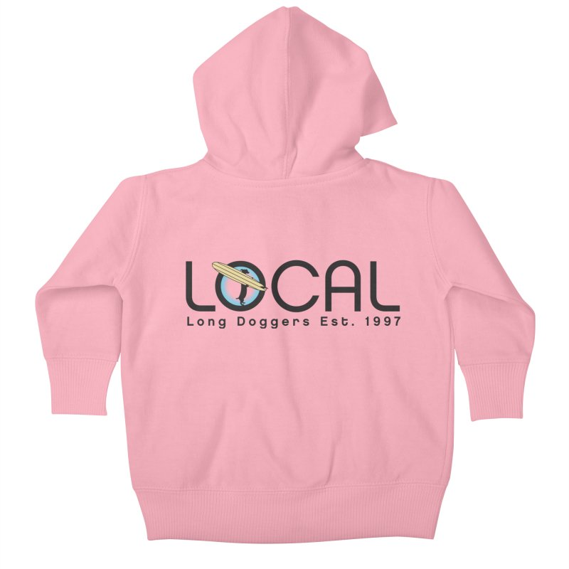 LOCAL Long Doggers - New Style Kids Baby Zip-Up Hoody by Long Dogger's Merch Store