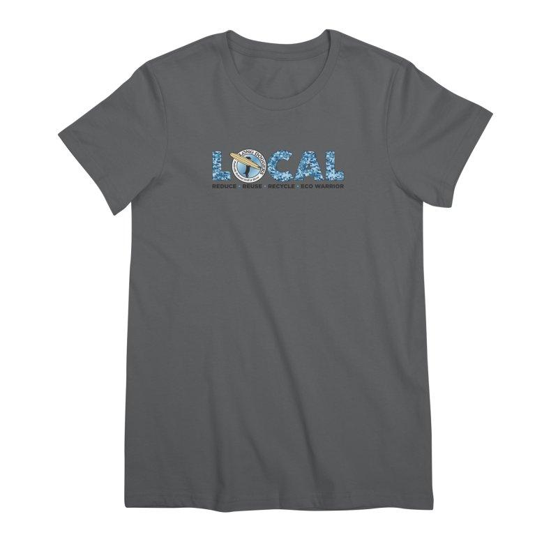 LOCAL ECO WARRIOR - digital water camo Women's T-Shirt by Long Dogger's Merch Store