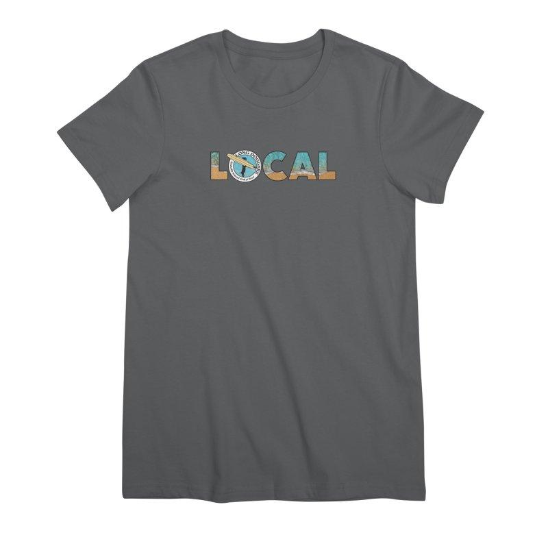 LOCAL - Ocean Background Women's T-Shirt by Long Dogger's Merch Store