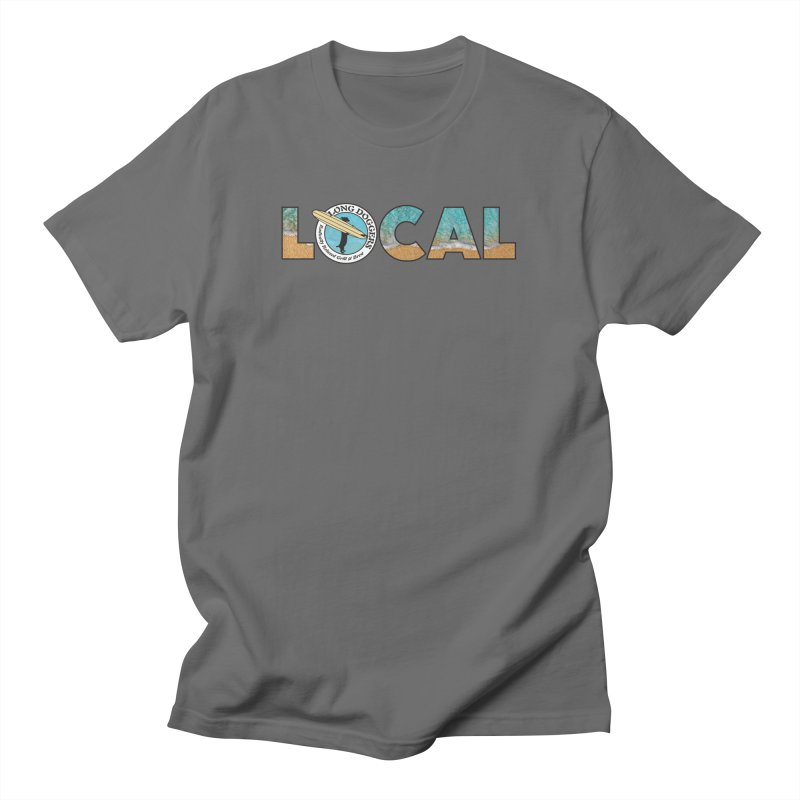 LOCAL - Ocean Background Men's T-Shirt by Long Dogger's Merch Store