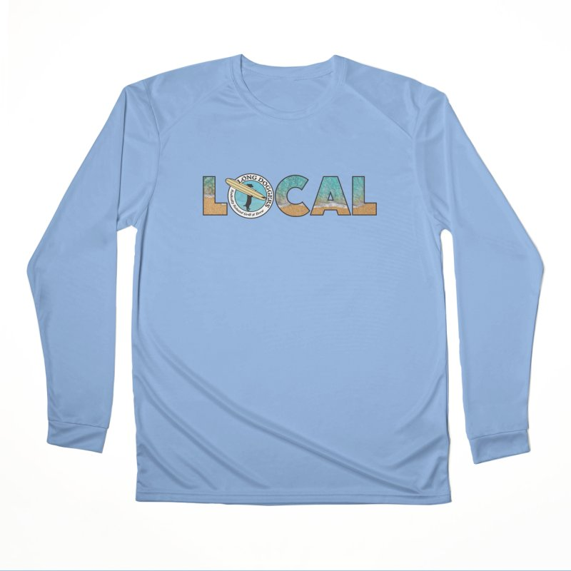 LOCAL - Ocean Background Women's Longsleeve T-Shirt by Long Dogger's Merch Store