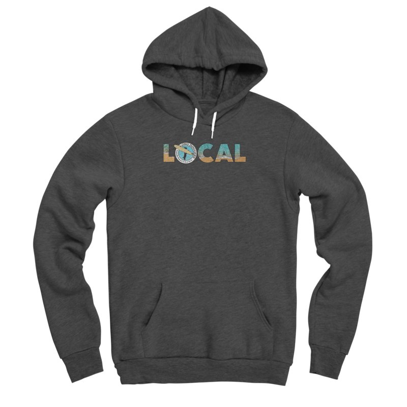 LOCAL - Ocean Background Men's Pullover Hoody by Long Dogger's Merch Store