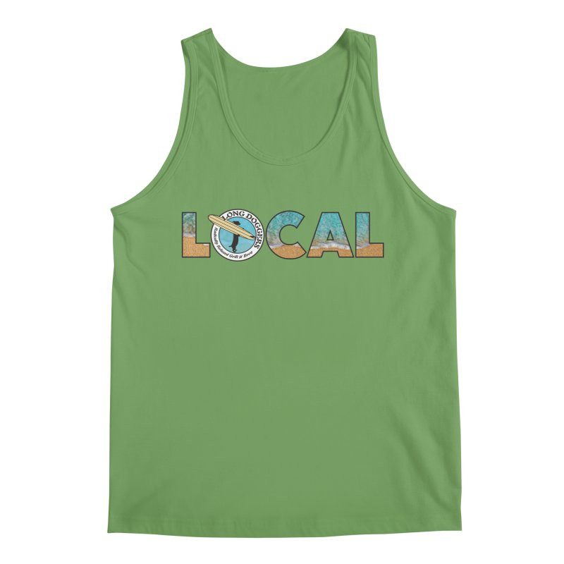 LOCAL - Ocean Background Men's Tank by Long Dogger's Merch Store