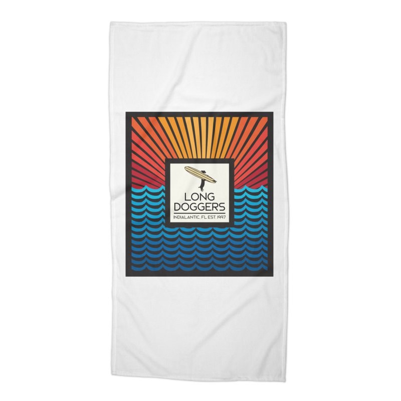 Long Doggers Florida Accessories Beach Towel by Long Dogger's Merch Store