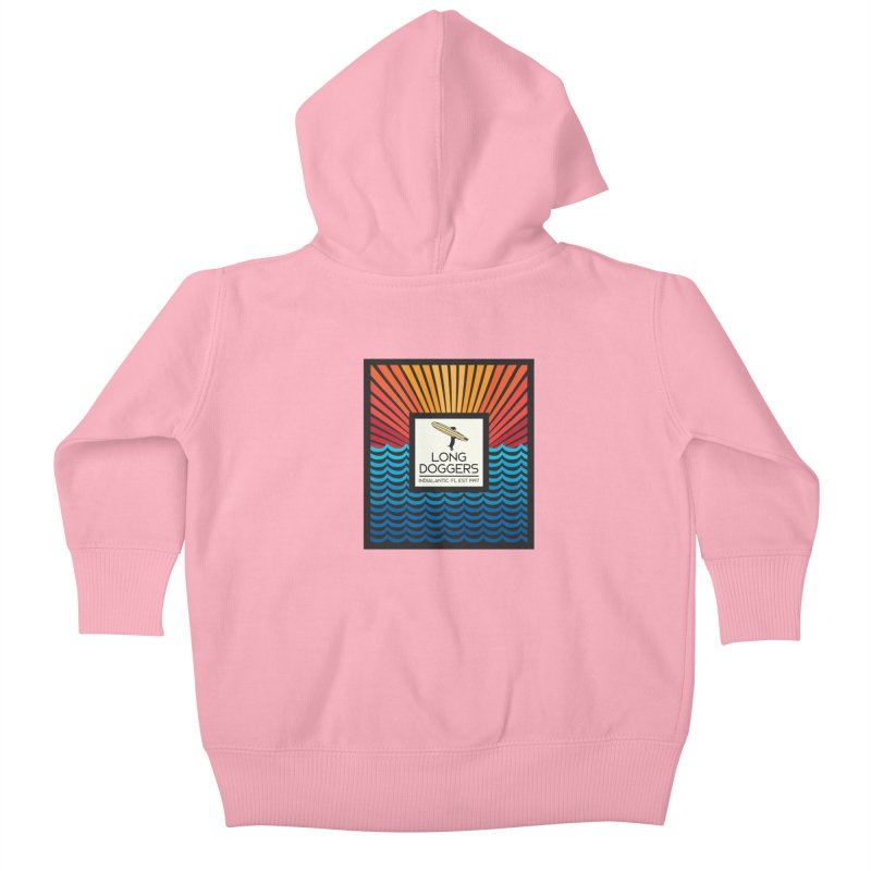 Long Doggers Florida Kids Baby Zip-Up Hoody by Long Dogger's Merch Store