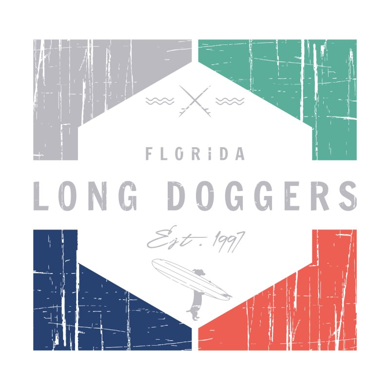 LD New Surf Men's Pullover Hoody by Long Dogger's Merch Store