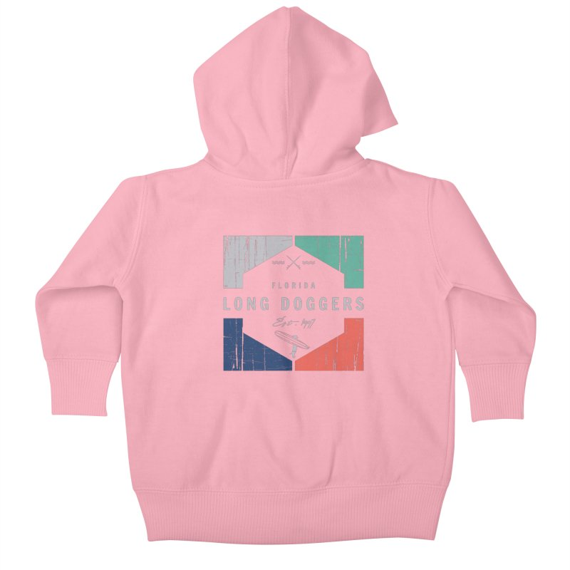 LD New Surf Kids Baby Zip-Up Hoody by Long Dogger's Merch Store