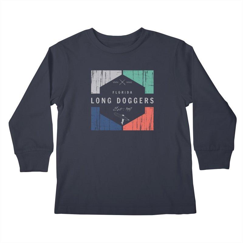 LD New Surf Kids Longsleeve T-Shirt by Long Dogger's Merch Store