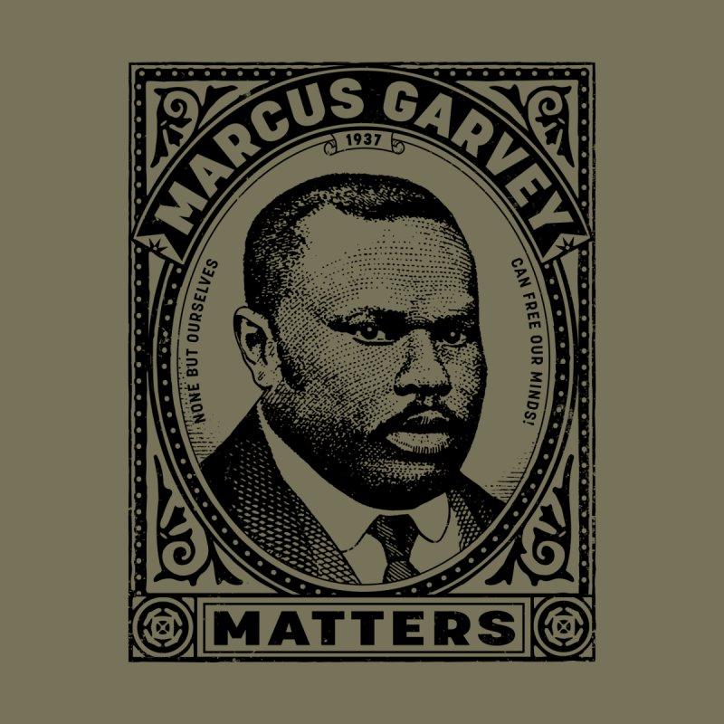 Marcus Garvey: Black Lives Matter! Men's T-Shirt by Long Live the Kitty!