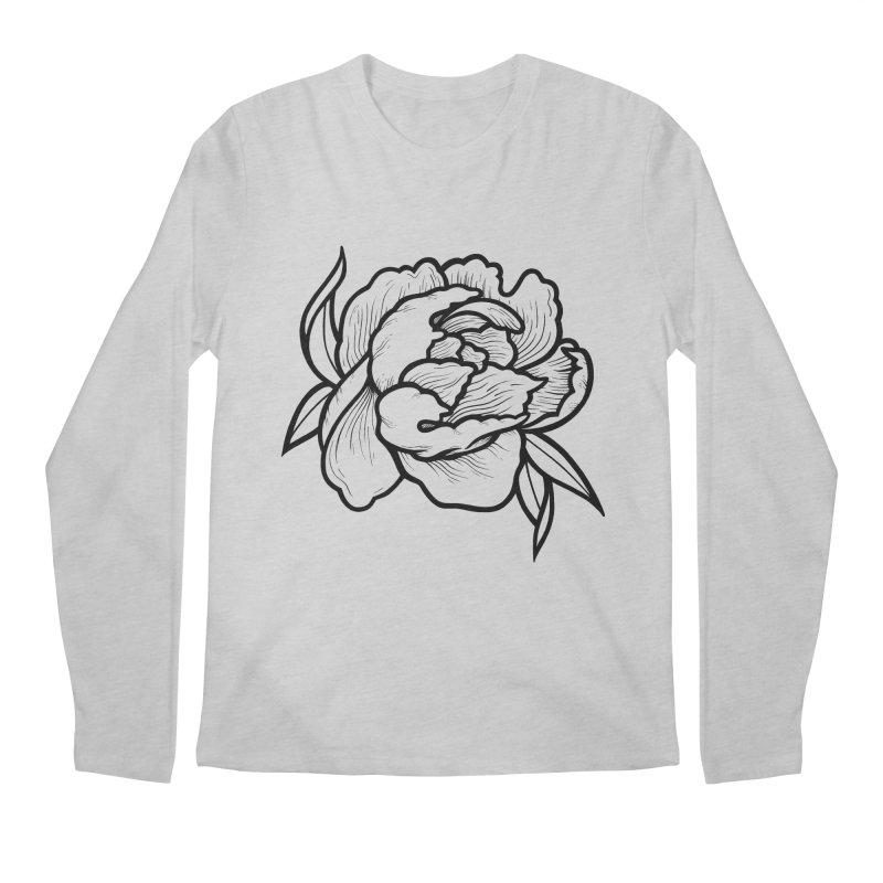 Paeon (Black) Men's Regular Longsleeve T-Shirt by loohicks's Artist Shop