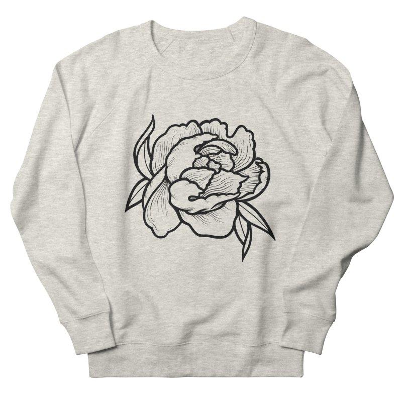 Paeon (Black) Women's French Terry Sweatshirt by loohicks's Artist Shop