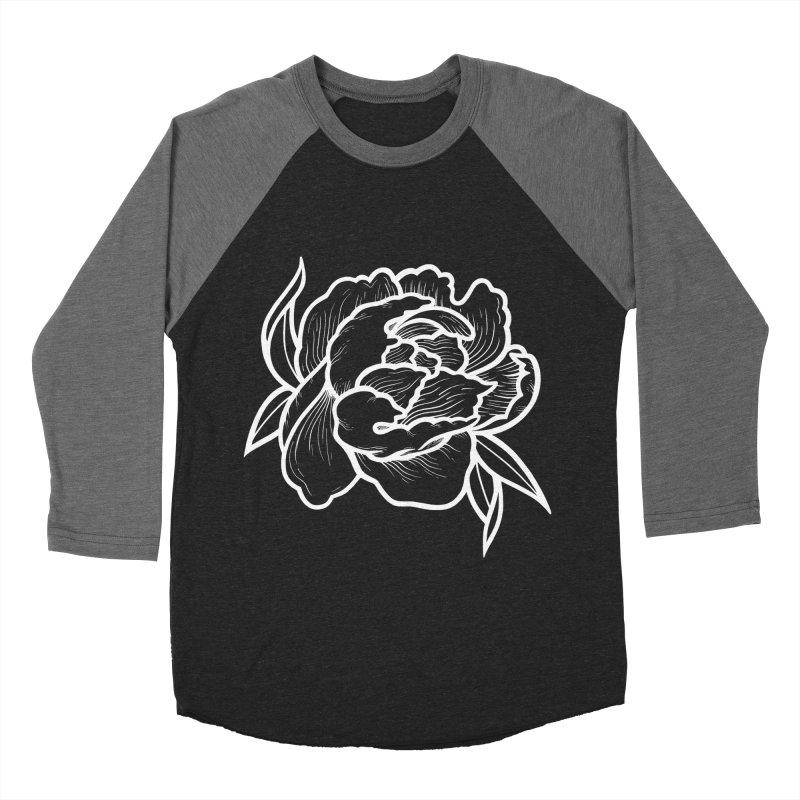 Paeon (White) Men's Baseball Triblend Longsleeve T-Shirt by loohicks's Artist Shop