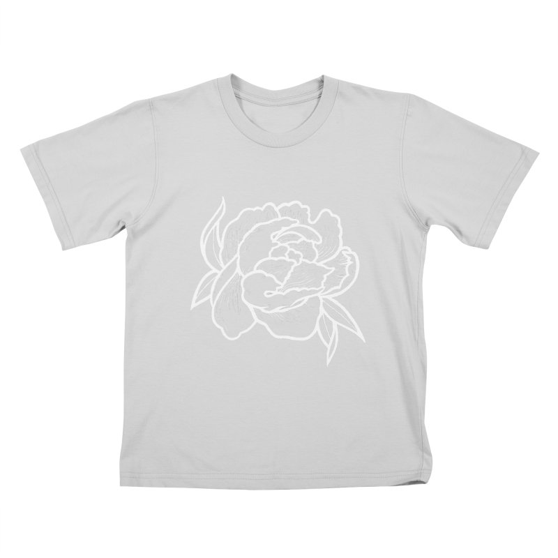 Paeon (White) Kids T-Shirt by loohicks's Artist Shop