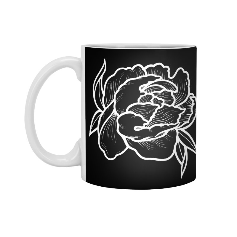 Paeon (White) Accessories Mug by loohicks's Artist Shop