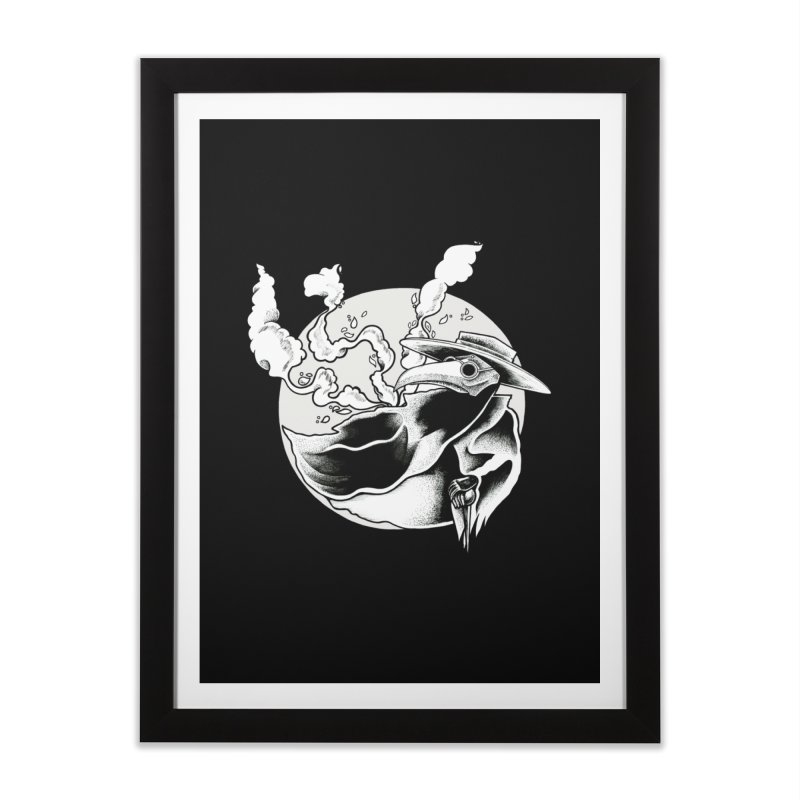 Nostradamus Home Framed Fine Art Print by loohicks's Artist Shop