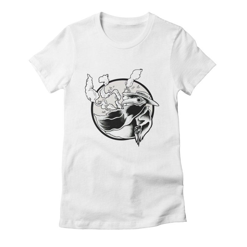 Nostradamus Women's Fitted T-Shirt by loohicks's Artist Shop