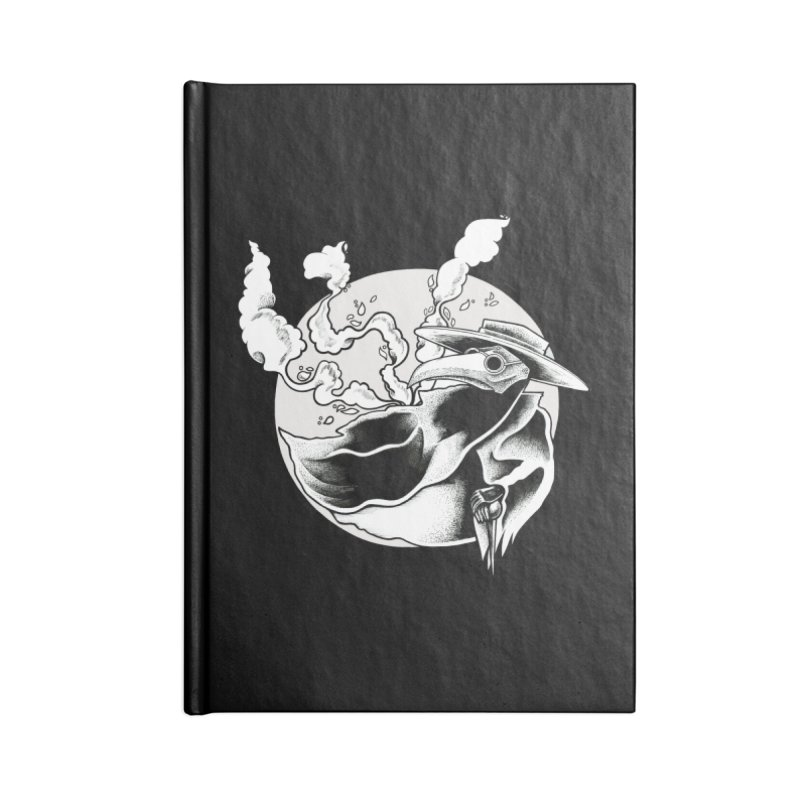 Nostradamus Accessories Blank Journal Notebook by loohicks's Artist Shop