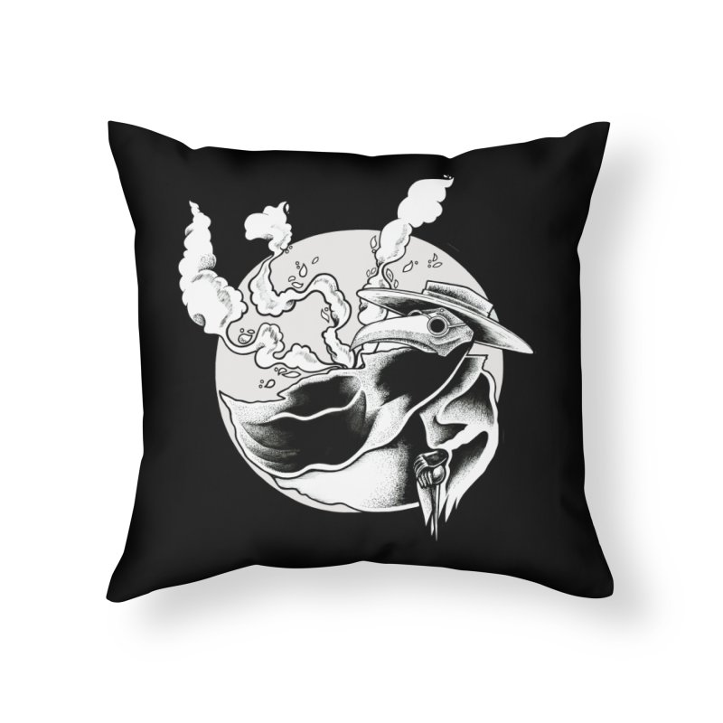 Nostradamus Home Throw Pillow by loohicks's Artist Shop