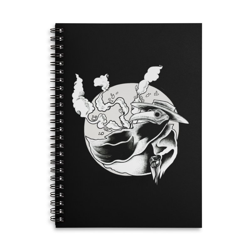 Nostradamus Accessories Lined Spiral Notebook by loohicks's Artist Shop
