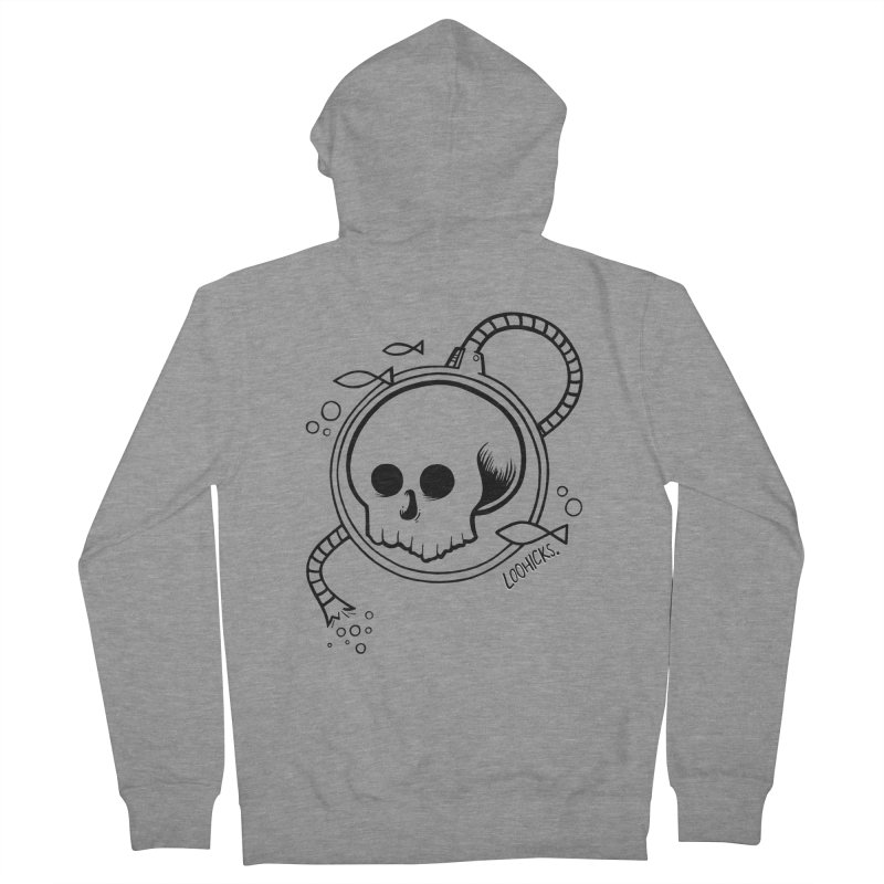 Swimmin' with the Fishes Women's French Terry Zip-Up Hoody by loohicks's Artist Shop