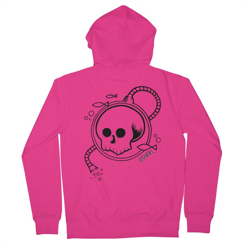 Swimmin' with the Fishes Men's French Terry Zip-Up Hoody by loohicks's Artist Shop