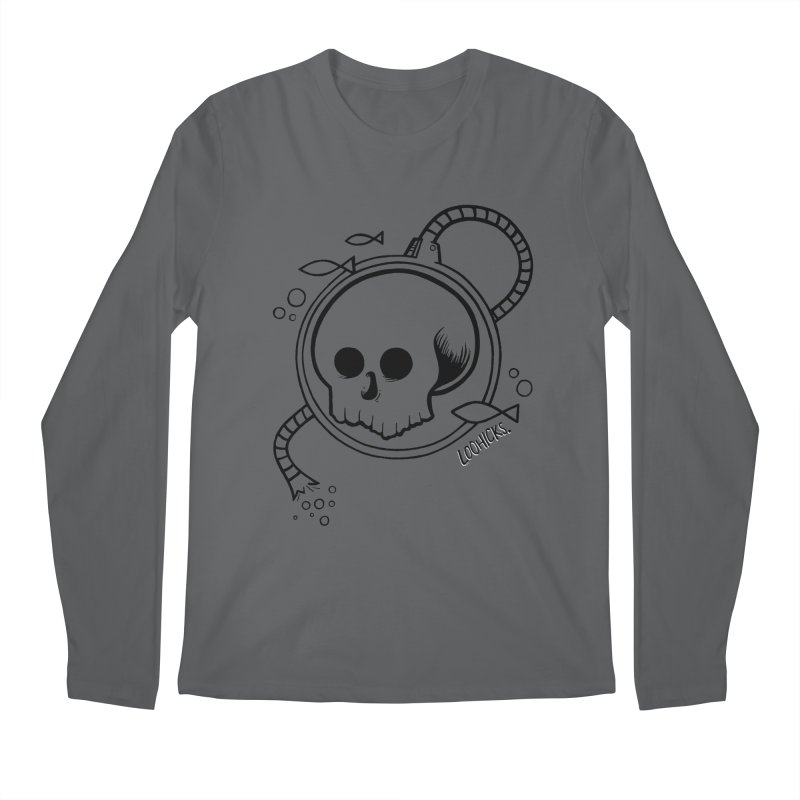 Swimmin' with the Fishes Men's Longsleeve T-Shirt by loohicks's Artist Shop