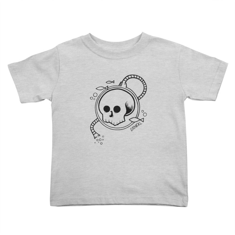 Swimmin' with the Fishes Kids Toddler T-Shirt by loohicks's Artist Shop