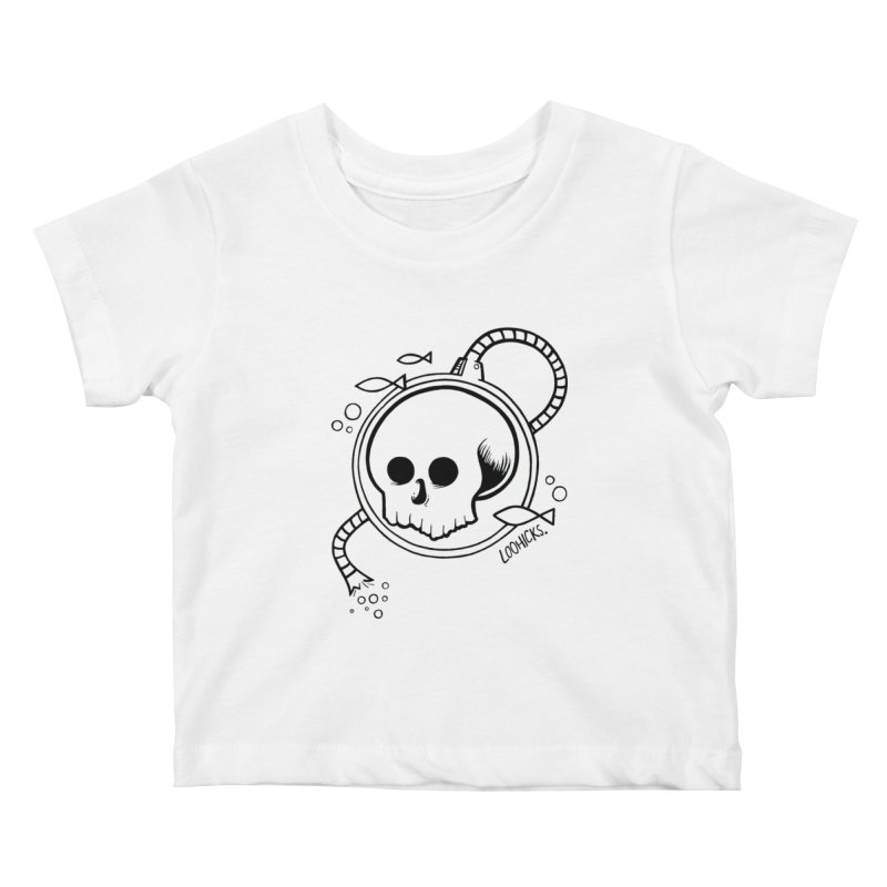 Swimmin' with the Fishes Kids Baby T-Shirt by loohicks's Artist Shop