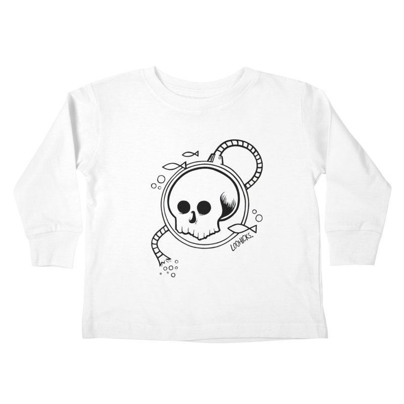 Swimmin' with the Fishes Kids Toddler Longsleeve T-Shirt by loohicks's Artist Shop