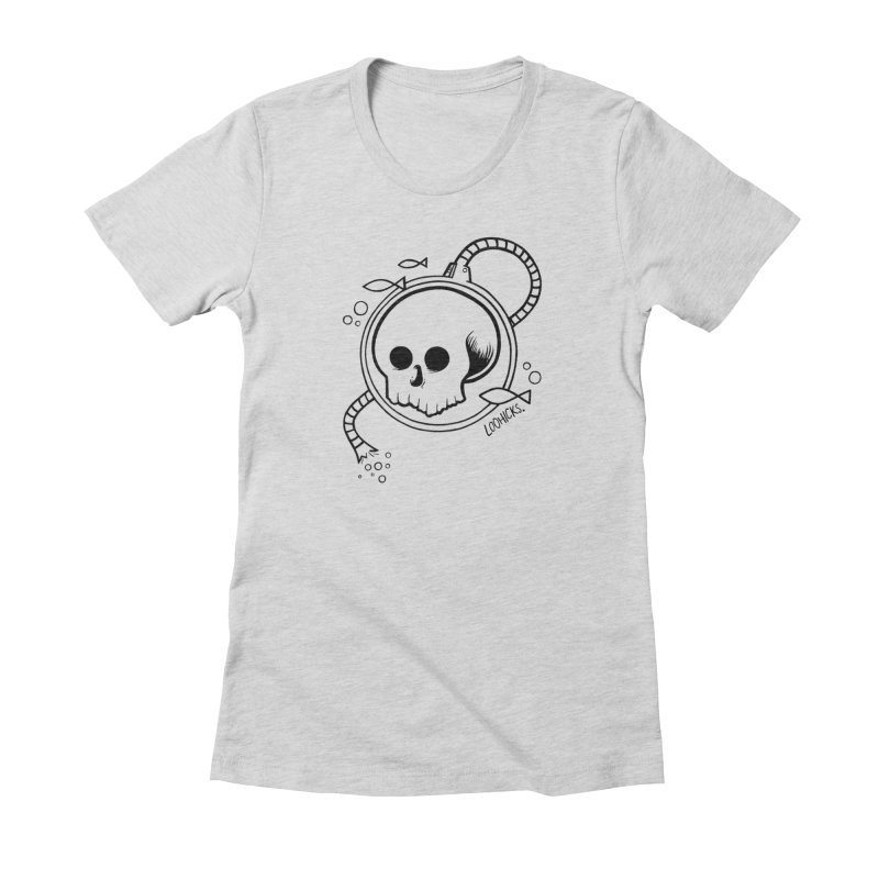 Swimmin' with the Fishes Women's T-Shirt by loohicks's Artist Shop