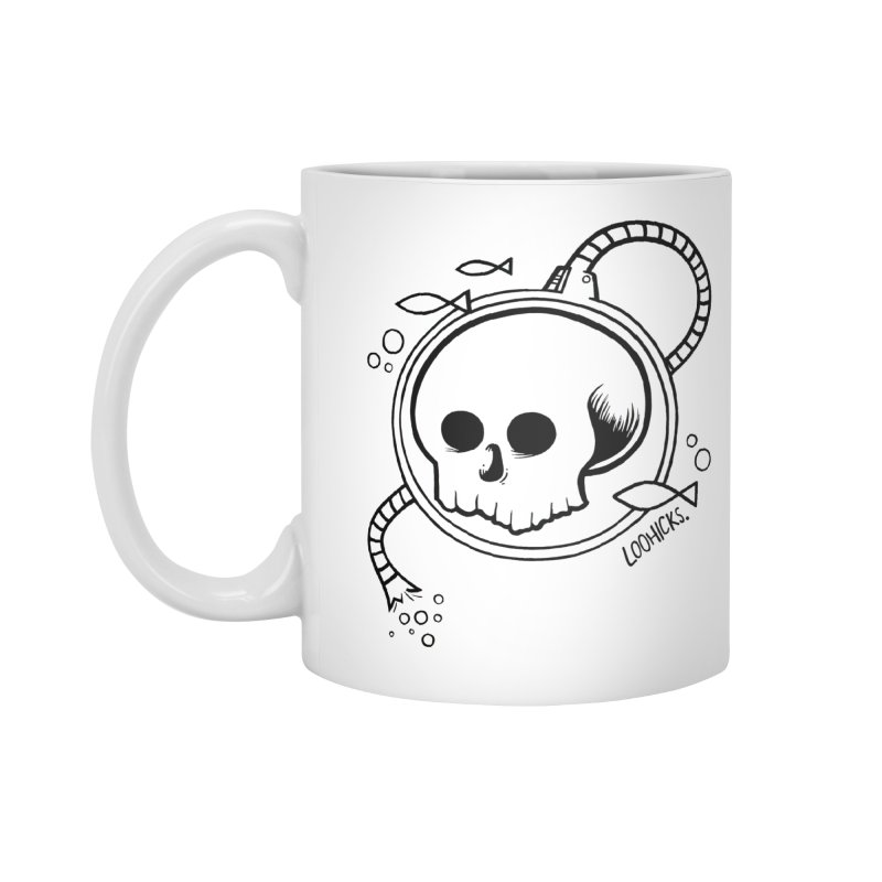 Swimmin' with the Fishes Accessories Mug by loohicks's Artist Shop