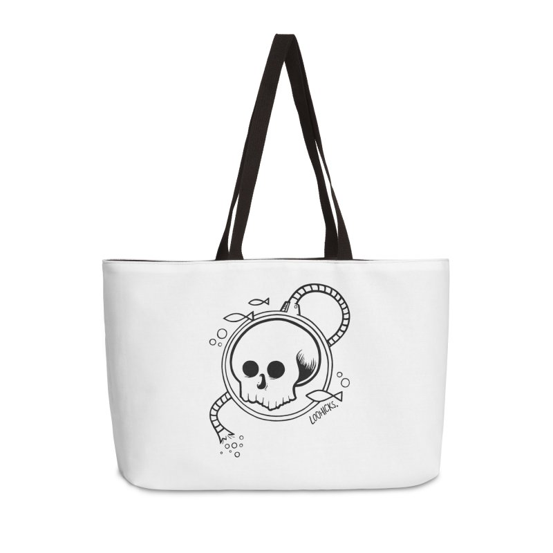 Swimmin' with the Fishes Accessories Weekender Bag Bag by loohicks's Artist Shop