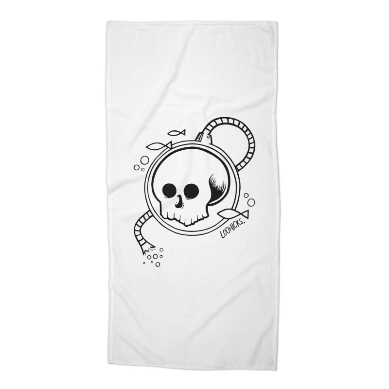 Swimmin' with the Fishes Accessories Beach Towel by loohicks's Artist Shop