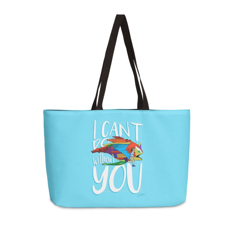 I Can't Do Without You Accessories Weekender Bag Bag by loohicks's Artist Shop