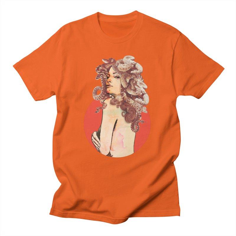 Gorgona Men's T-Shirt by lopesco's Artist Shop