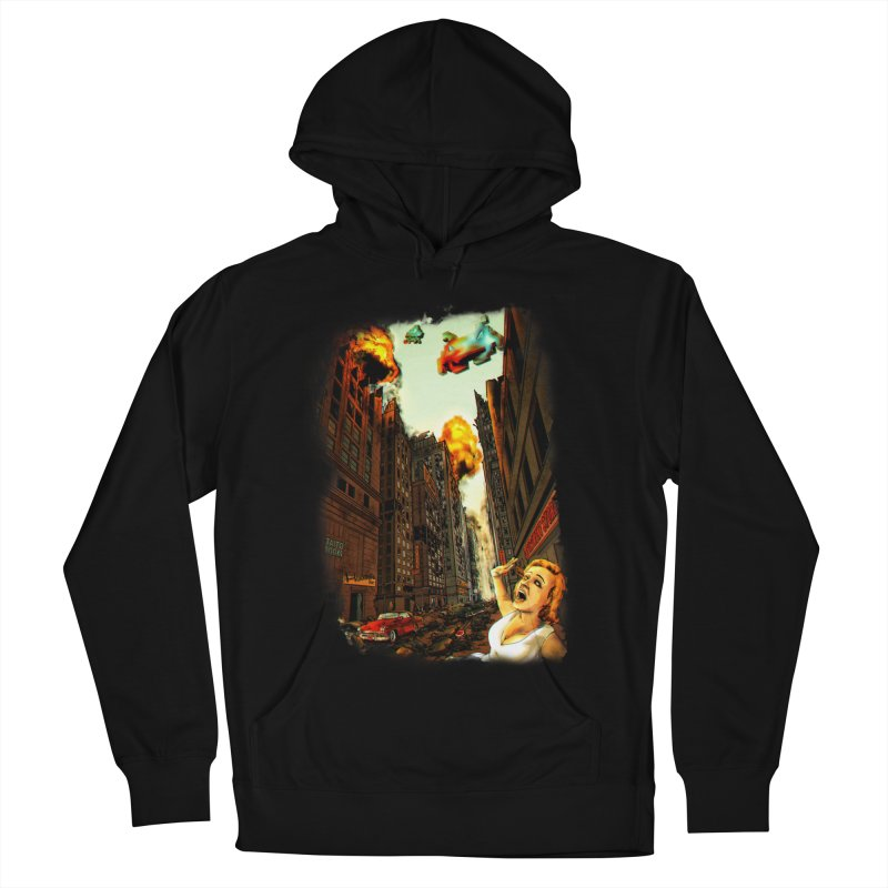 INVADERS! Women's Pullover Hoody by lopesco's Artist Shop