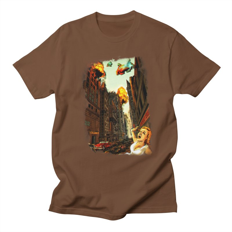 INVADERS! Men's T-Shirt by lopesco's Artist Shop