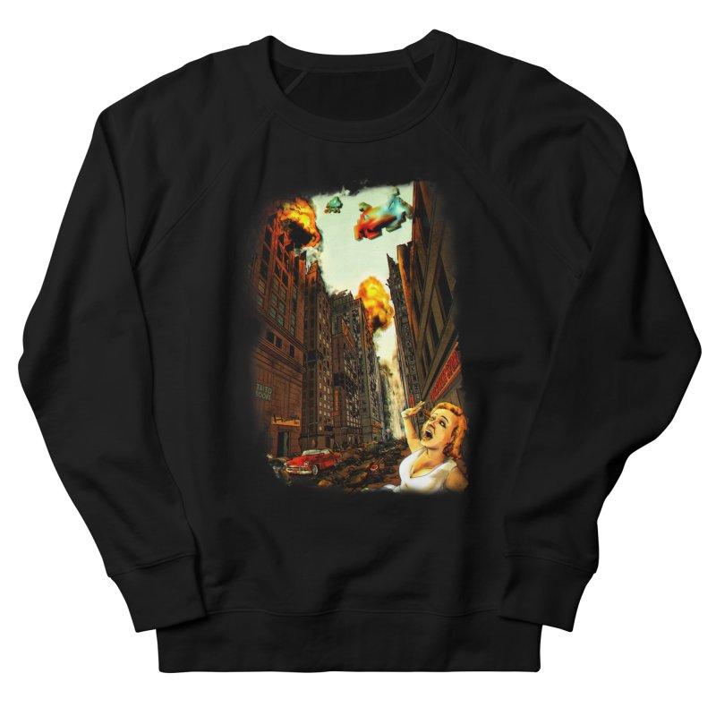 INVADERS! Women's Sweatshirt by lopesco's Artist Shop