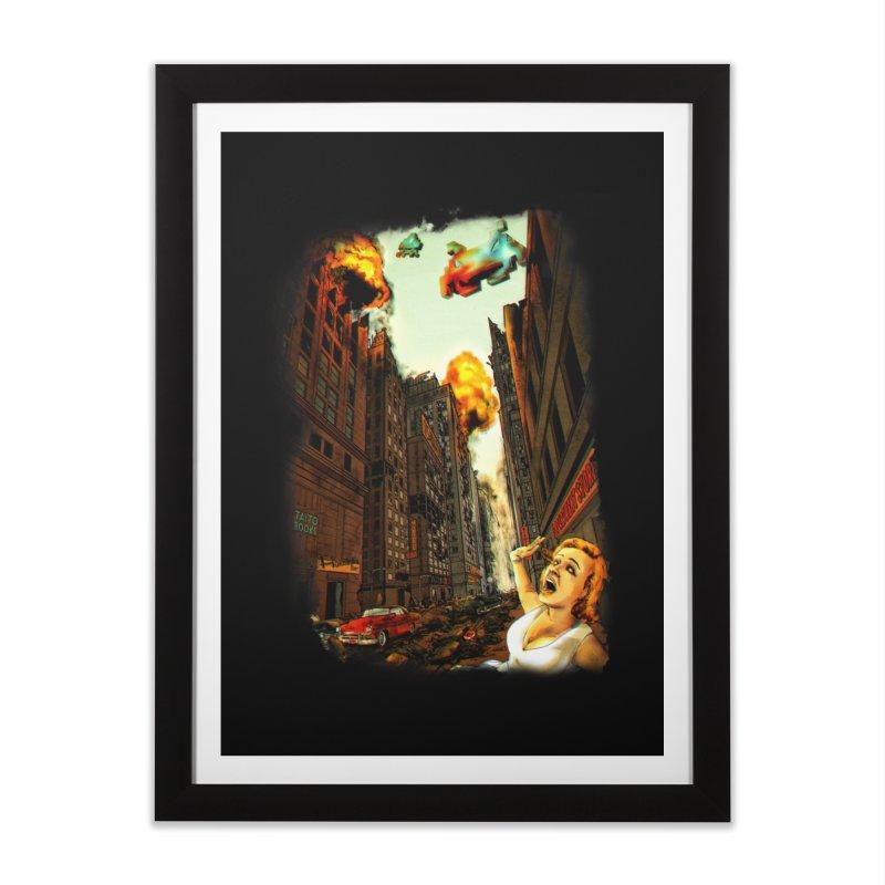INVADERS! Home Framed Fine Art Print by lopesco's Artist Shop