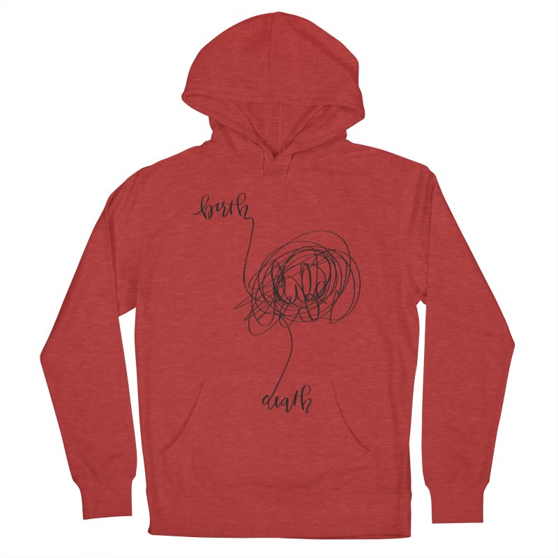 Lifelines Men's Pullover Hoody by lopesco's Artist Shop